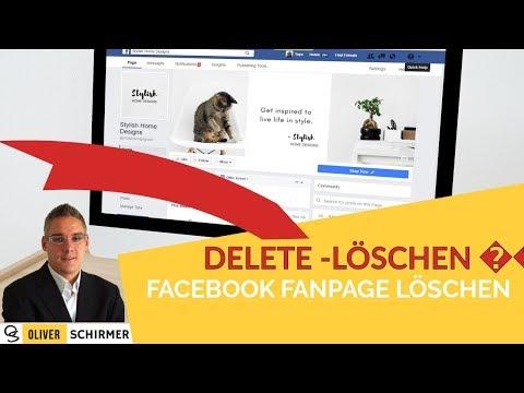 Facebook Fanpage löschen - So gehts...