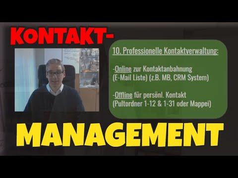 Kontakt Management im Network Marketing - Kontaktmanagement einfach und kostenlos...