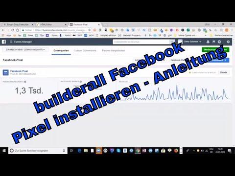 builderall Facebook Pixel installieren - Anleitung