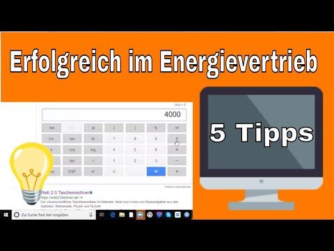Erfolgreich im Energievertrieb - 5 Tipps