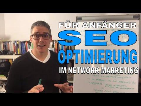 SEO Optimierung für Anfänger im Network Marketing