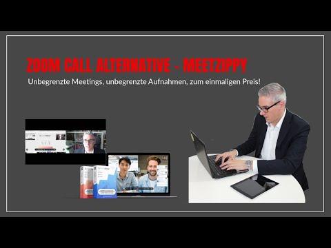 Zoom Call Alternative Meetzippy - die Zoom Alternative