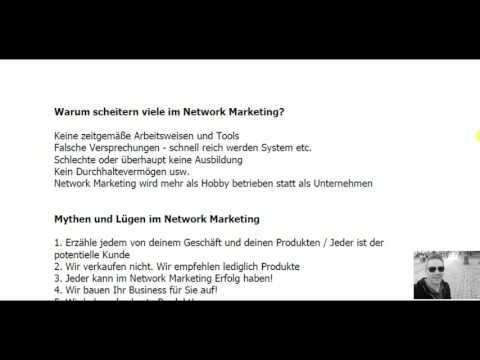 Network Marketing - Das 1x1 des Network Marketing-Eine kurze Zusammenfassung