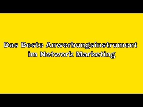Online Network Marketing - Das beste Anwerbungsinstrument im Network Marketing