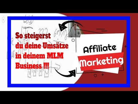 Affiliate Marketing Beispiel & Umsätze in deinem MLM Business steigern