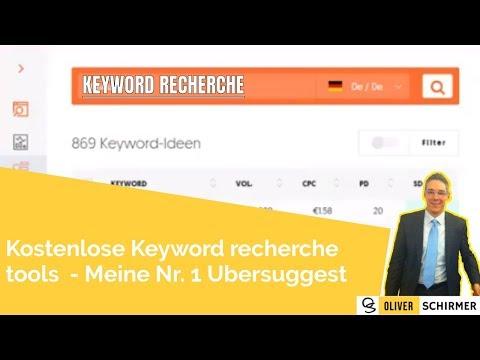 Keyword recherche tools - kostenlos meine Nr. 1 Ubersuggest