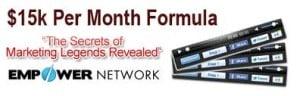 empower network 15 k formula