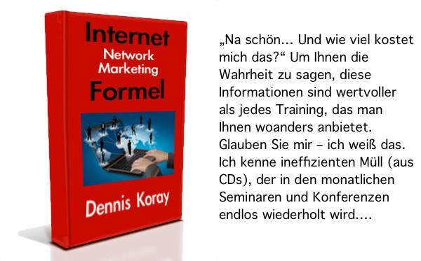Internet-Network-Marketing-Formel