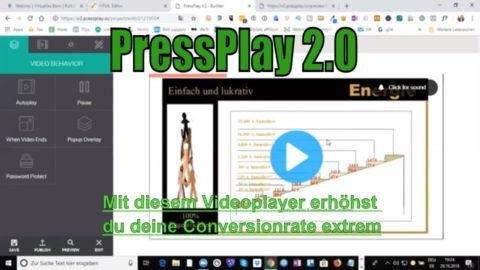 PressPlay 2.0 – Mit diesem Videoplayer erzielst du mehr Leads und Verkäufe