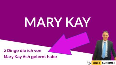 Mary Kay wird 55 – 2 Dinge die ich von der Gründerin gelernt habe