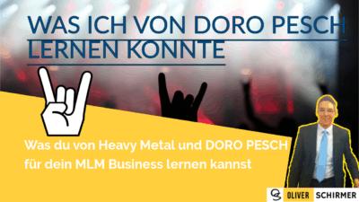 Doro Pesch – was du von Heavy Metal für dein MLM Business lernen kannst