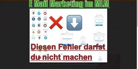 E-Mail Marketing im MLM – Diesen Fehler darfst du nicht machen