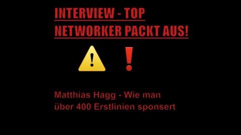 Interview mit Matthias Hagg – Wie man 400 Erstlinien sponsert
