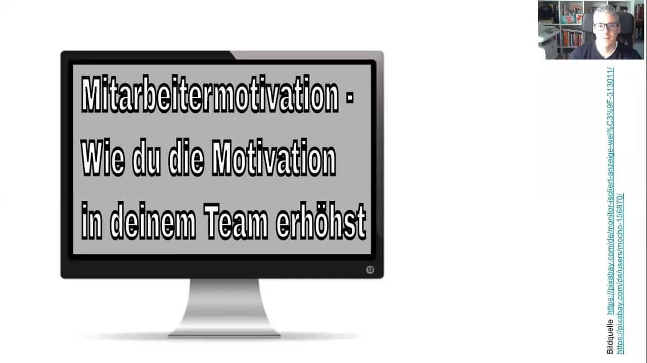Mitarbeitermotivation – Wie du die Mitarbeitermotivation in deinem Network Marketing Team erhöhst